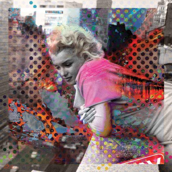Pensive Marilyn