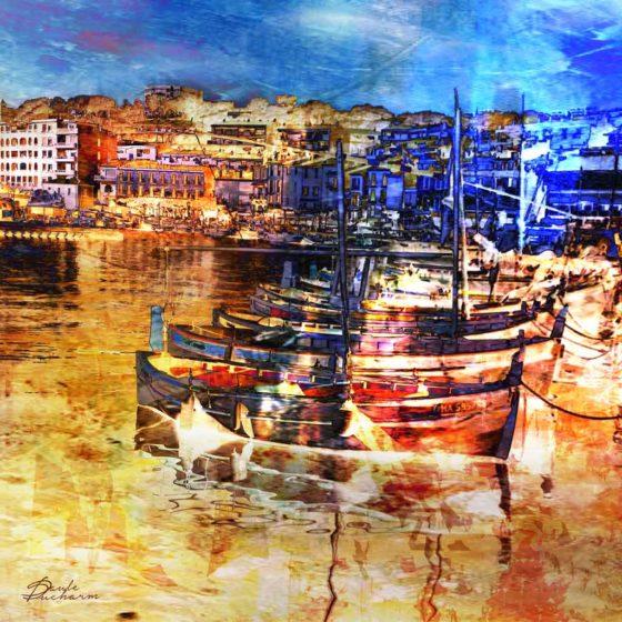 Reflet port de Cassis